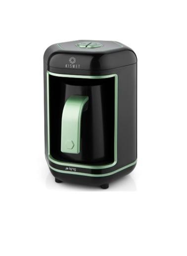 King K-605 Kısmet Türk Kahve Makinesi Yeşil